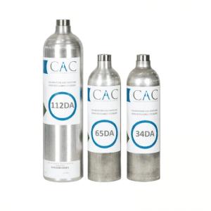 CAC Nitrogen Dioxide 10PPM Calibration Gas - 65DA10NO2N