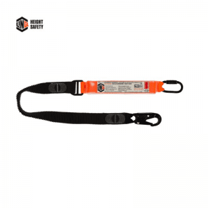 LINQ Elite Single Leg Elasticated Lanyard With Hardware Ks Sn - WLE1KSSN