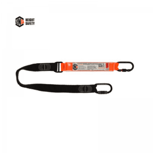 LINQ Elite Single Leg Elasticated Lanyard With Hardware Ks X2 - WLE1KSKS