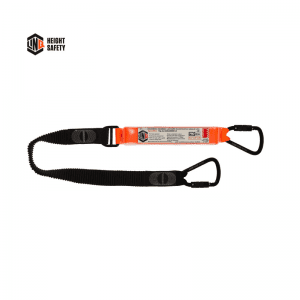 LINQ Elite Single Leg Elasticated Lanyard With Hardware Kt X2 - WLE1KTKT