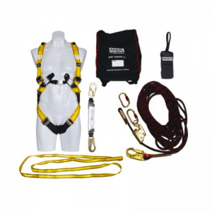MSA Kit Confined Space Workman Rescuer Stainless Steel Cable 15M - 768384