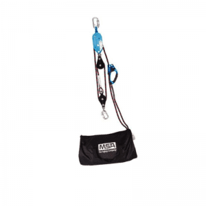 MSA Rescue Safe Retrieval System 3-1 Pulley 45M Rope 15m Travel - 229090-45.0