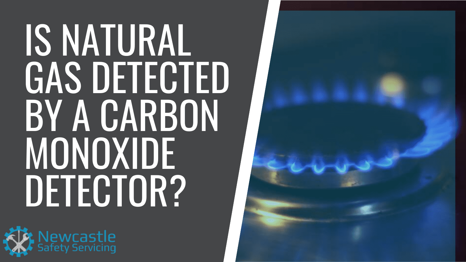 is natural gas detected by a carbon monoxide detector?