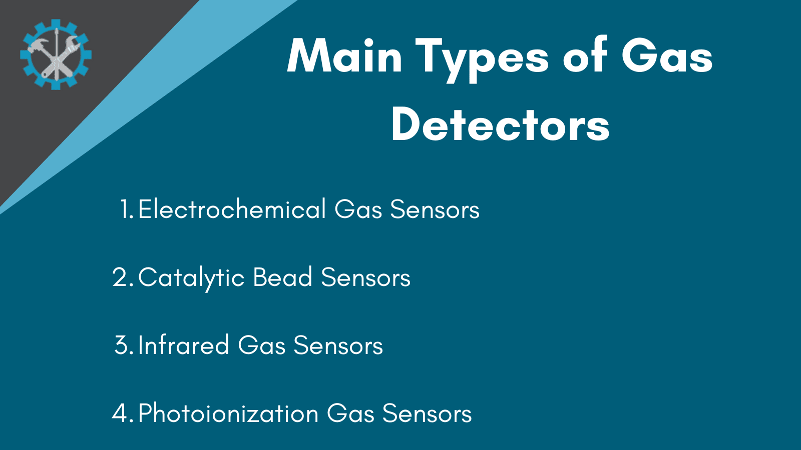How many types of gas detectors are there inforgraphic