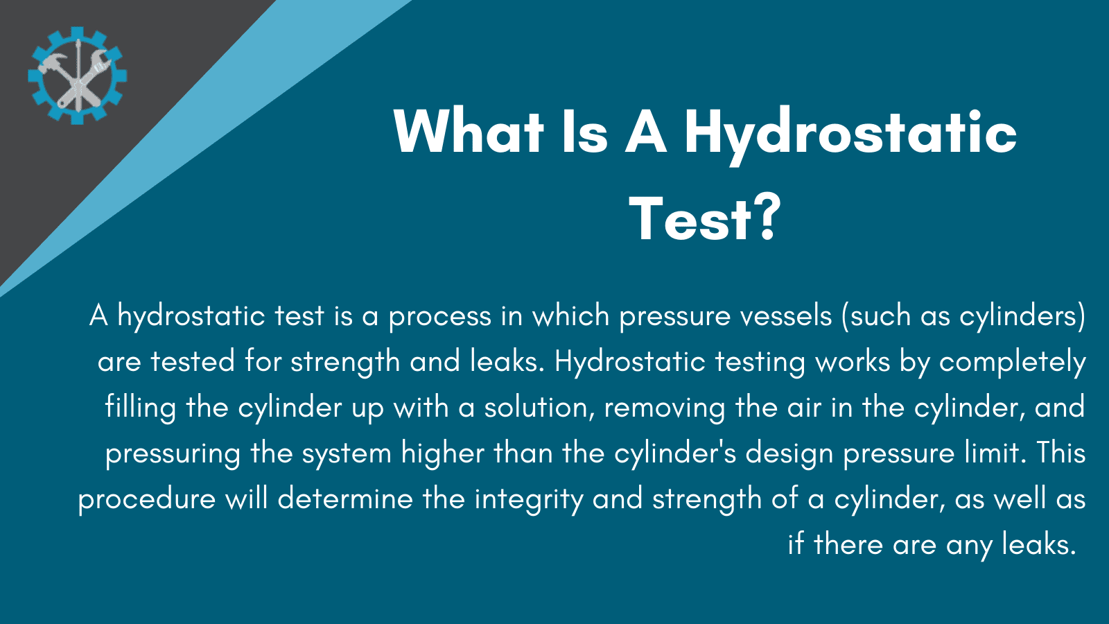 why do cylinders need hydrostatic testing infographic